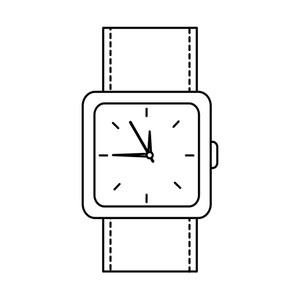 300x300 Watch Face Royalty Free Vectors