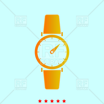 400x400 Hand Watch Icon Vector Image Vector Artwork Of Signs, Symbols