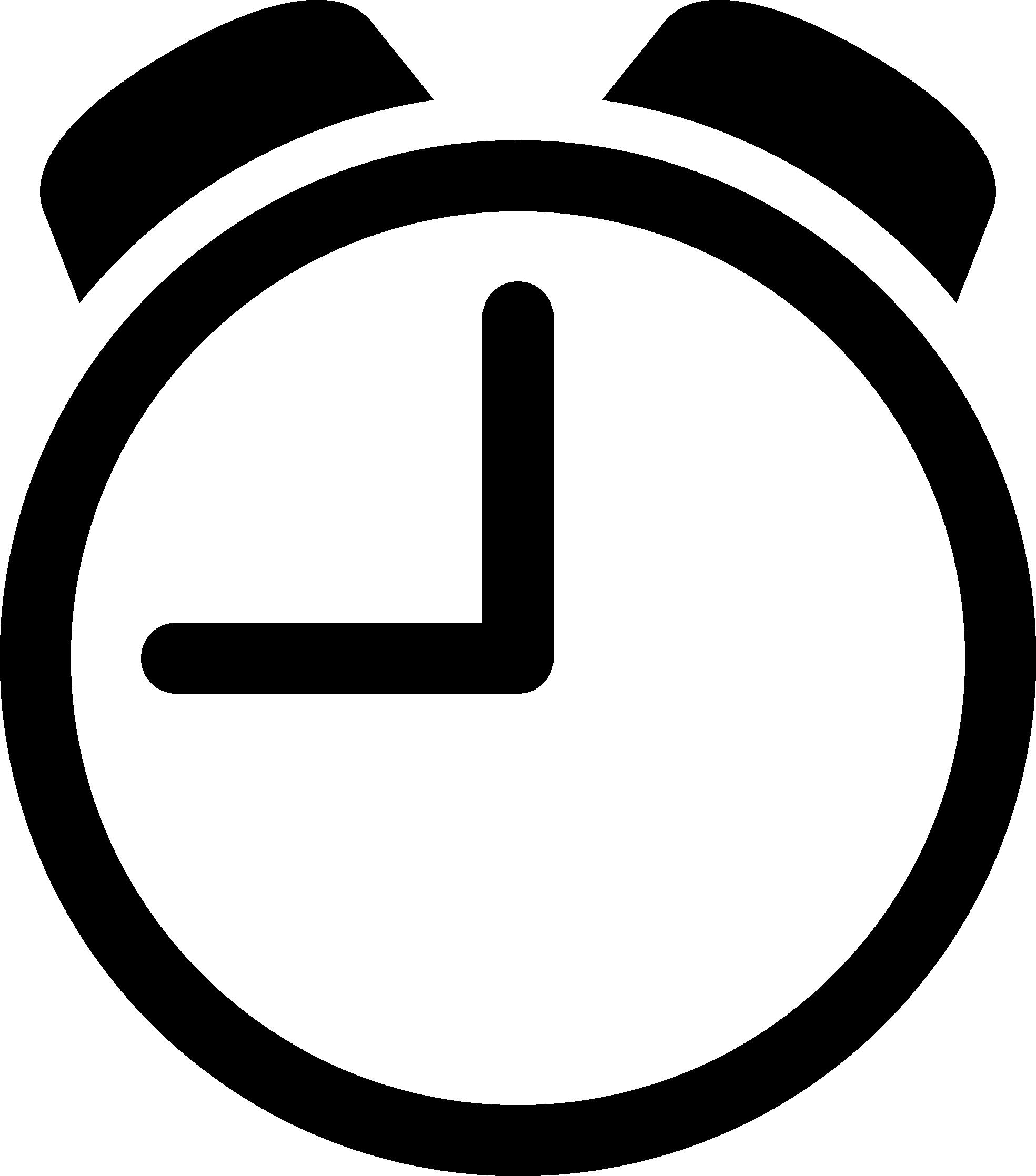 1969x2236 Clock Vector