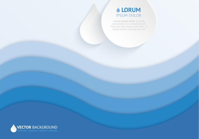 700x490 Layered Water Drop Background Vector