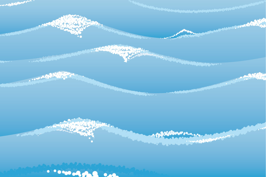 851x567 Water Related Vector Background Material Free Vector 4vector