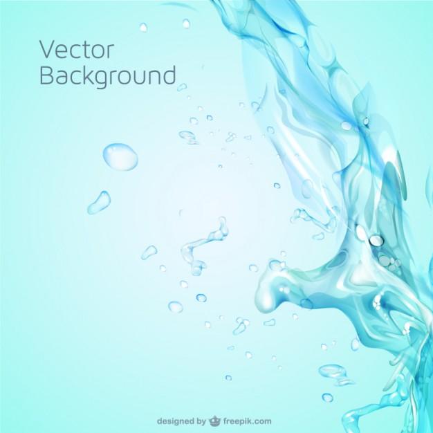 626x626 Water Splash Background Vector Free Download