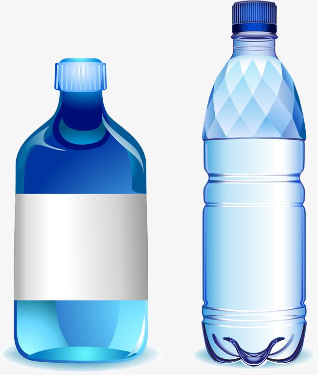 650x765 Blue Water Bottle, Blue Vector, Water Vector, Bottle Vector Png