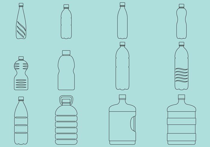 700x490 Water Bottle Free Vector Art