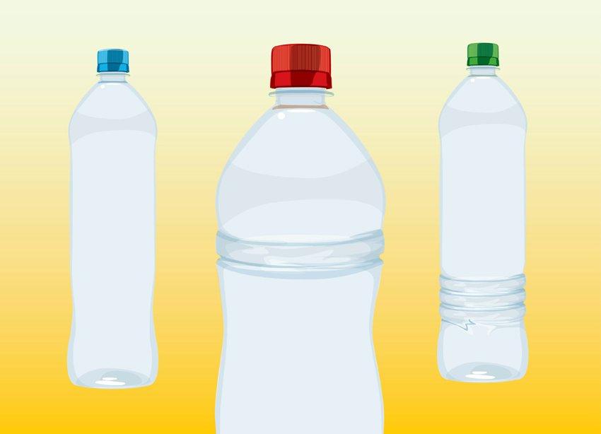 850x614 Water Bottles Vector Art Amp Graphics