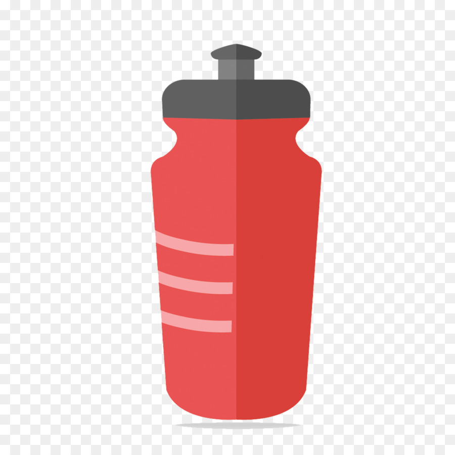 900x900 Fire Extinguisher Red Water Bottle