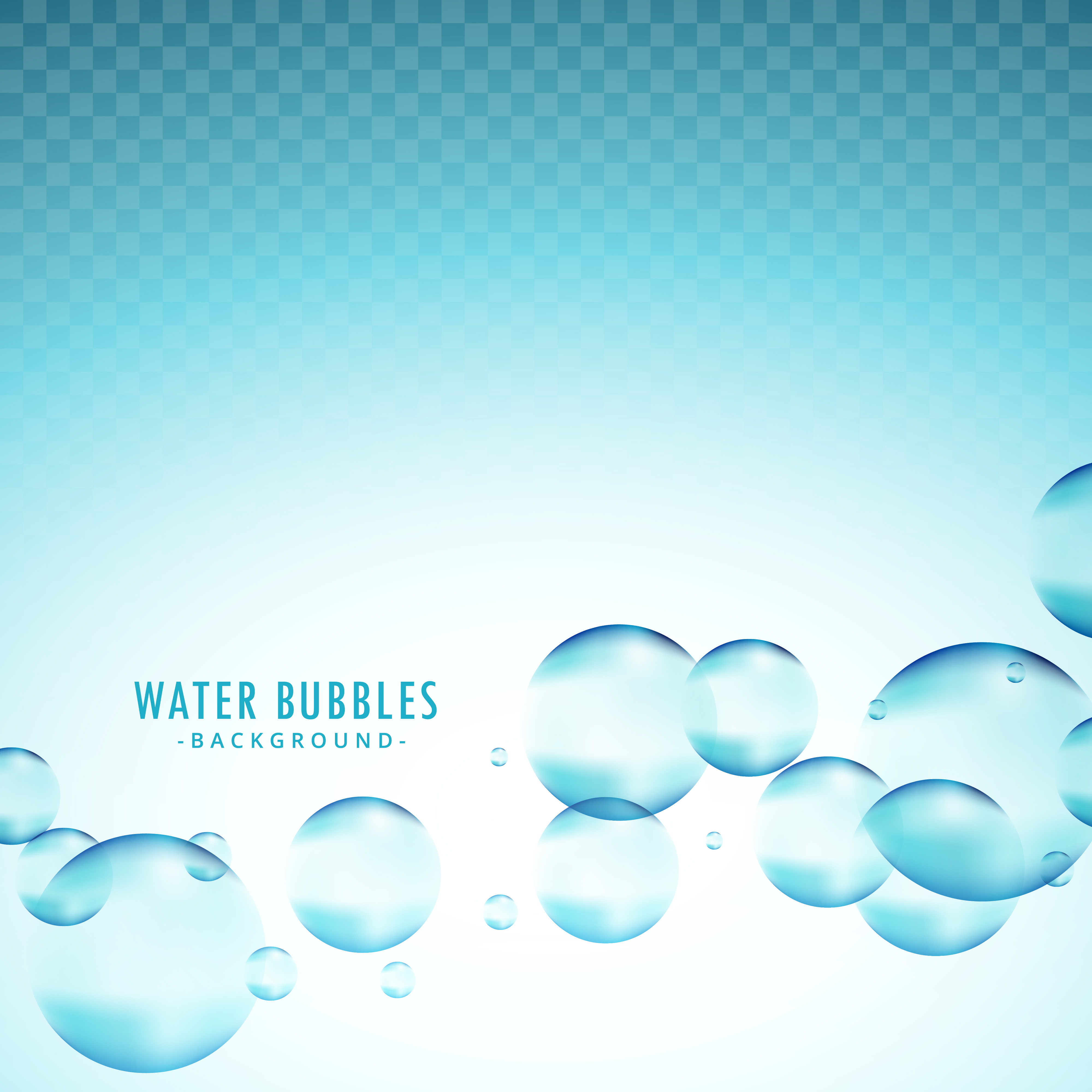 4000x4000 Water Bubble Vector