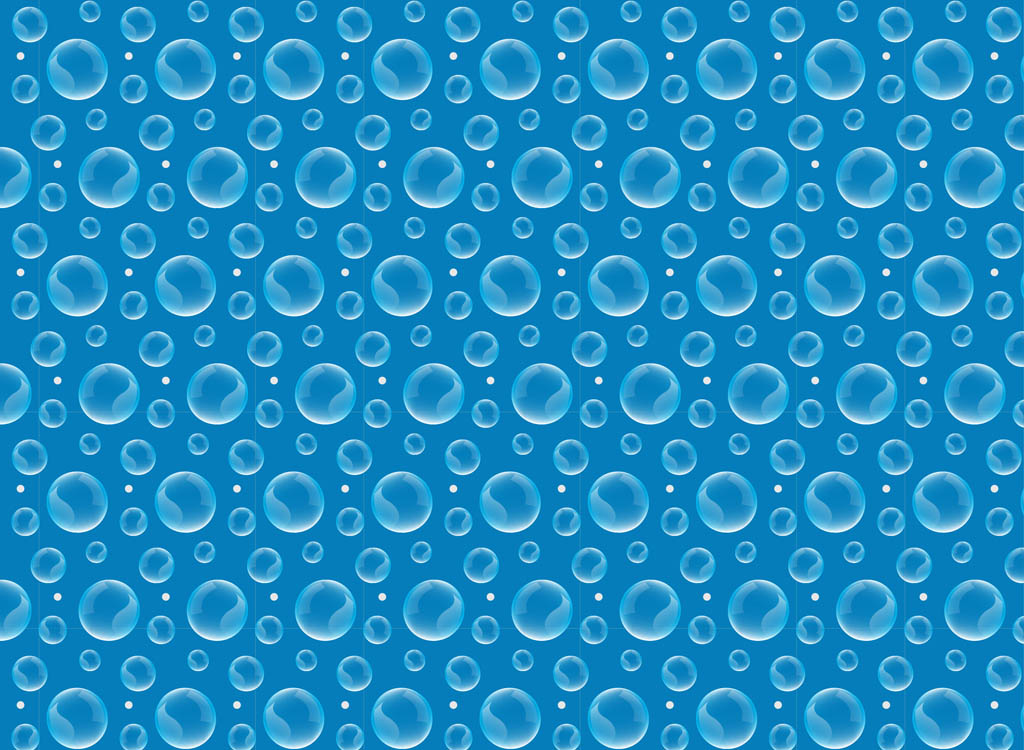 1024x750 Water Bubbles Vector