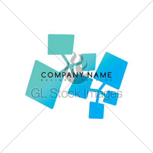 500x500 Water Liquid Drip Spill Icon Logo Logotype Vector Art Gl Stock
