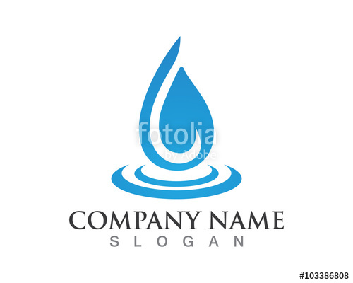 500x400 Water Drop Logo Stock Image And Royalty Free Vector Files On