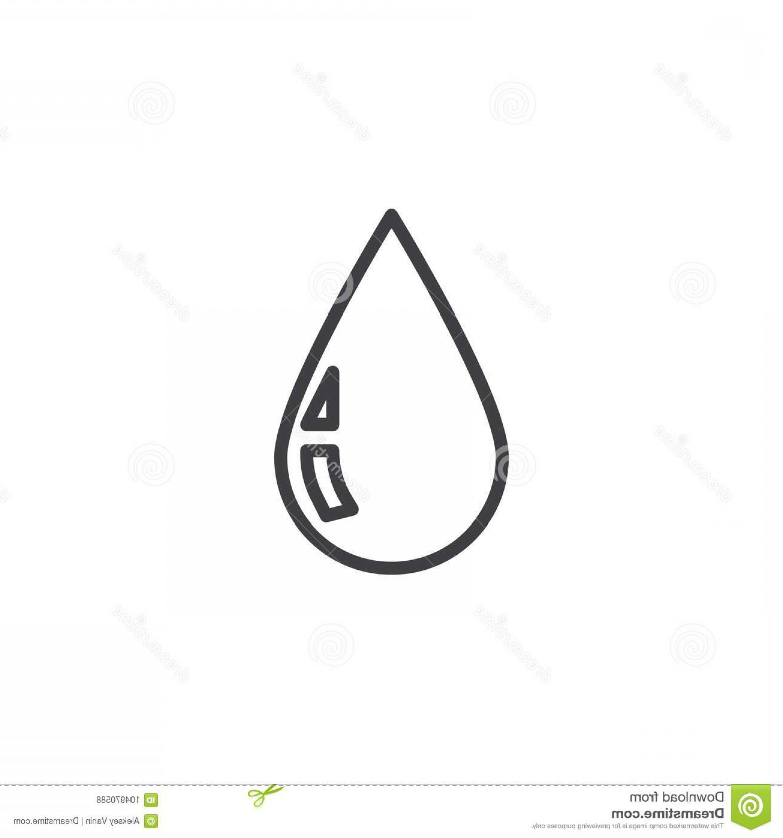 1560x1668 Rain Drop Line Icon Rain Drop Line Icon Outline Vector Sign Linear