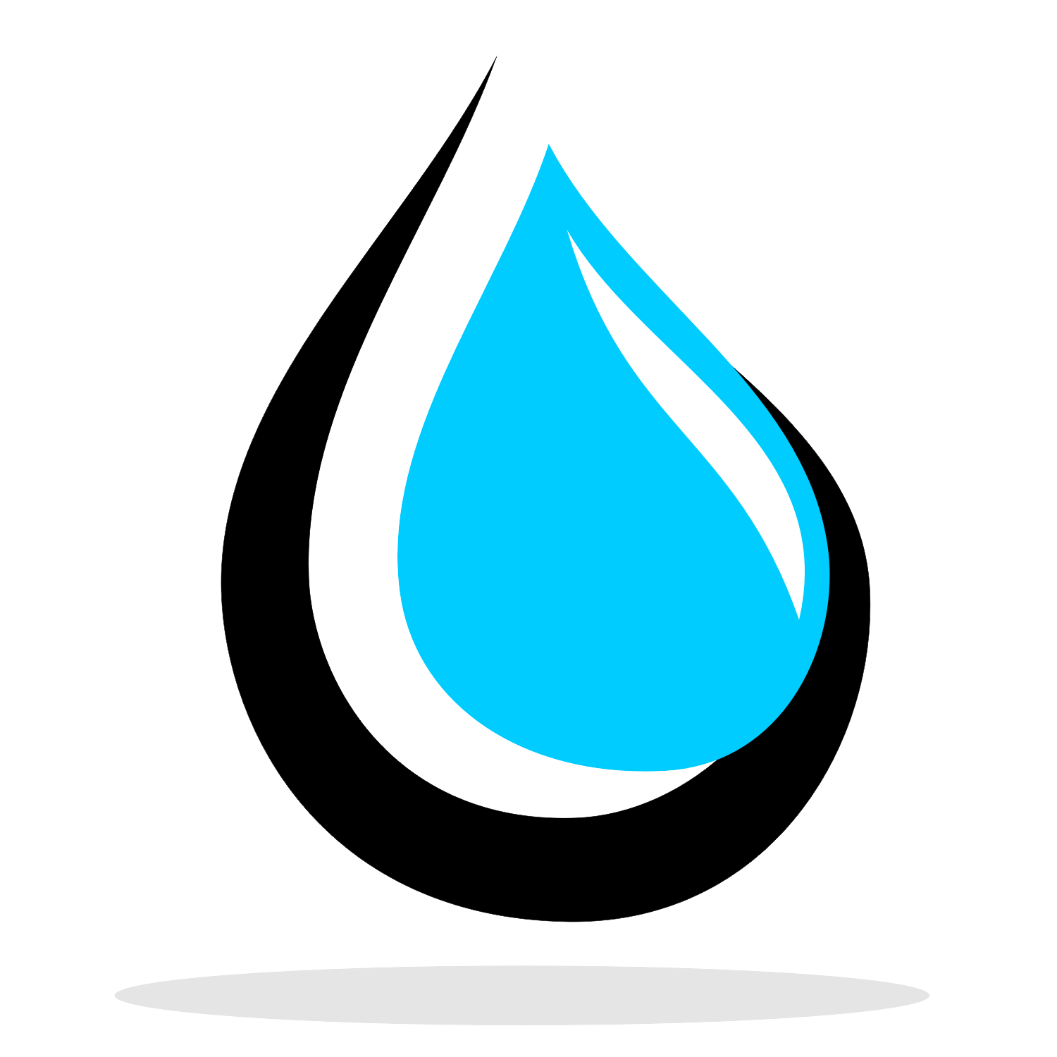 1500x1500 Vector For Free Use Water Drop Logo