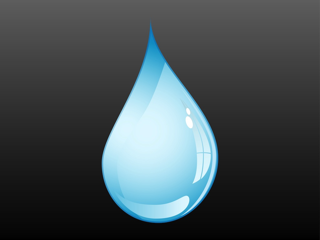 1024x767 Water Drop Vector Vector Art Amp Graphics