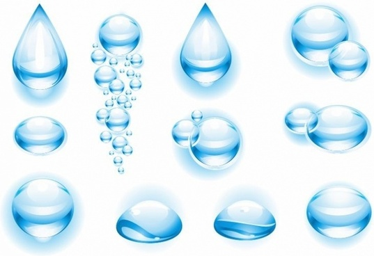 537x368 Water Drops Vector Free Vector Water For Free About 632 Vector