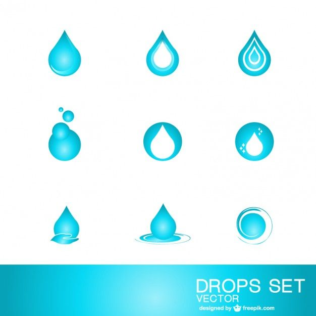626x625 Water Drop Logo Template Free Vector Water Infographic