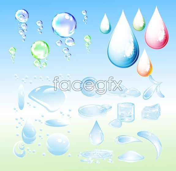 575x558 Drops Of Blister Drops Vector Free Vectors Vector
