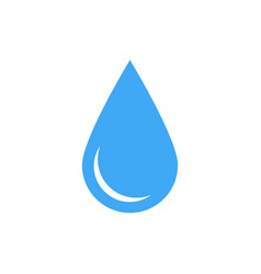238x250 Blue Water Drop Symbol Simple Flat Icon Vector 15746122