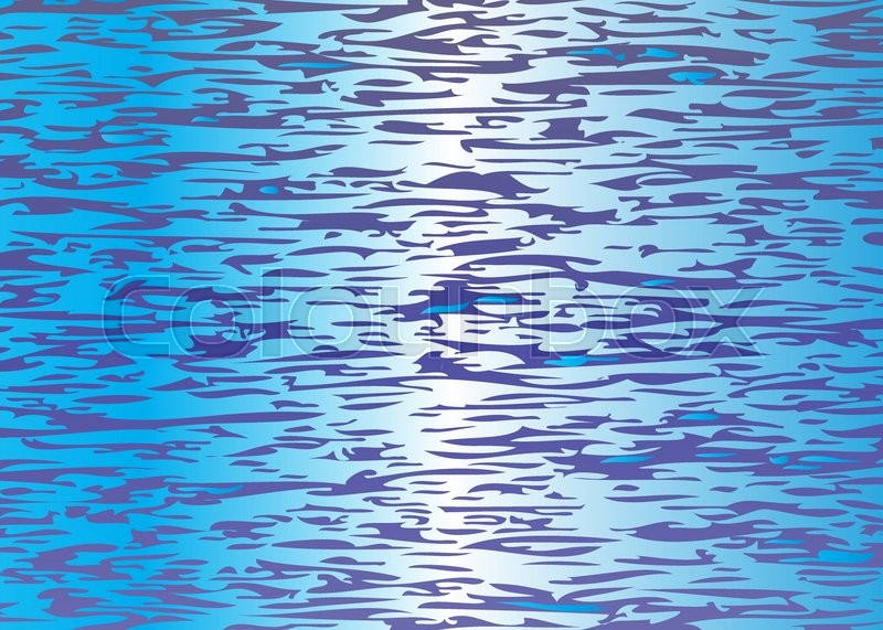 800x571 Water Surface Pattern Stock Vector Colourbox