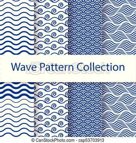 450x470 Water Theme Vector Art Pattern Background. Water Theme Vector Art