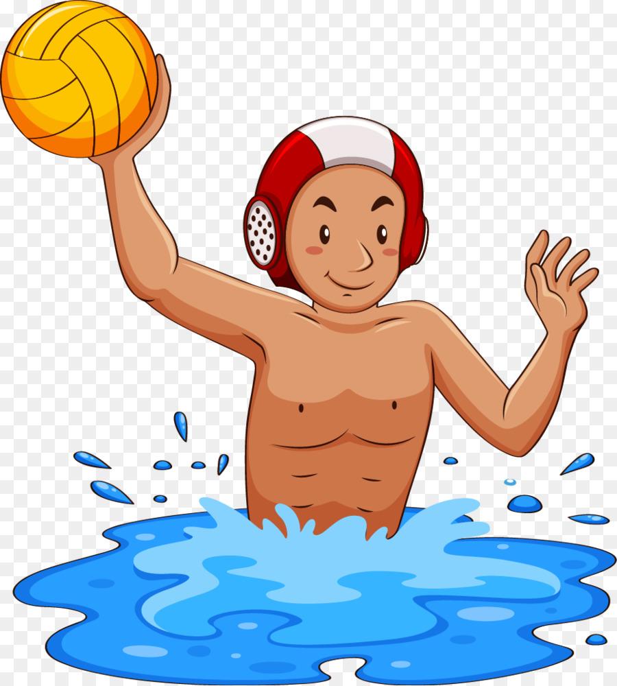 900x1000 Water Polo Ball Clip Art