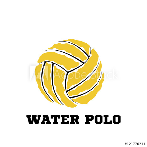 500x500 Water Polo Ball Logo For The Team And The Cup