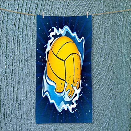 425x425 L Qn Camping Towel Vector Illustration Of Water Polo