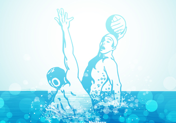 352x247 Water Polo Logo Vector Free Vector Download 399257 Cannypic