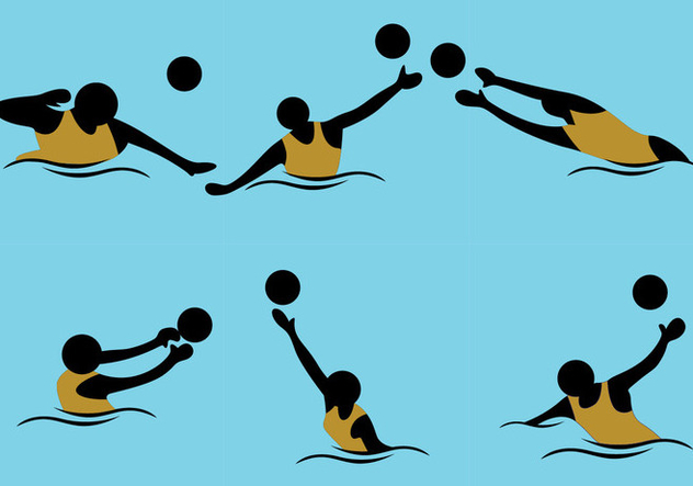 632x443 Water Polo Vector Free Vector Download 370023 Cannypic