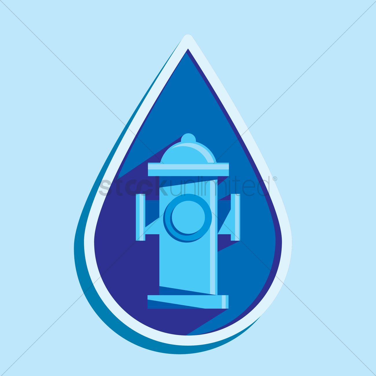 1300x1300 Water Pump Vector Image