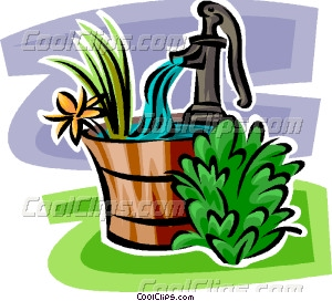 300x272 Hand Water Pump Vector Clip Art