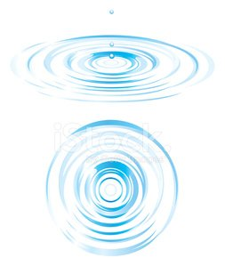 253x299 Top And Side View Of Ripples Stock Vectors