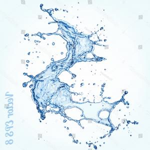 Water Splash Vector Illustration