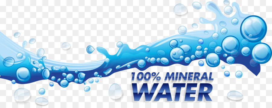 900x360 Water Drop Splash Euclidean Vector Illustration