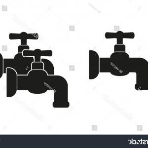 300x300 Water Faucet Vector Set Graphics Illustration Orangiausa