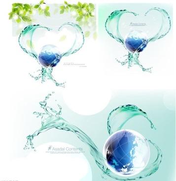 357x368 Water Spray Vector Image Free Vector Download (2,683 Free Vector