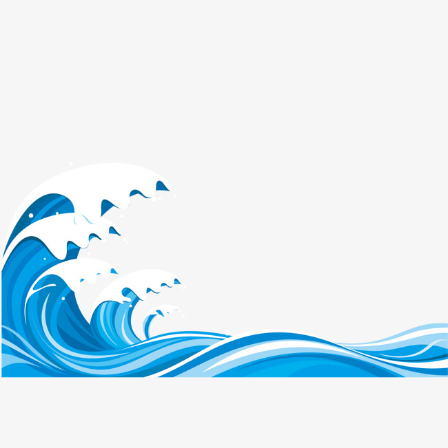 650x651 Blue River Water Spray Vector Material, River Water, Spray, Water