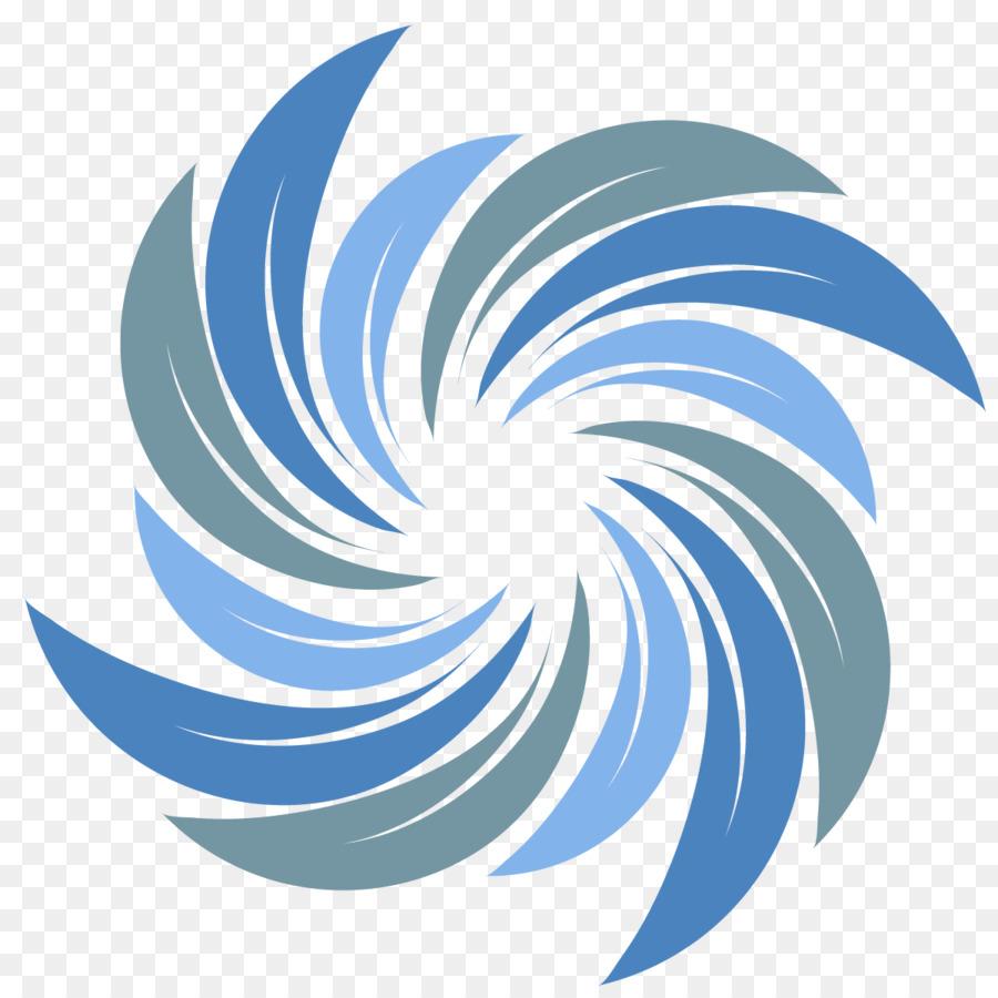 900x900 Spiral Logo Wave Vector