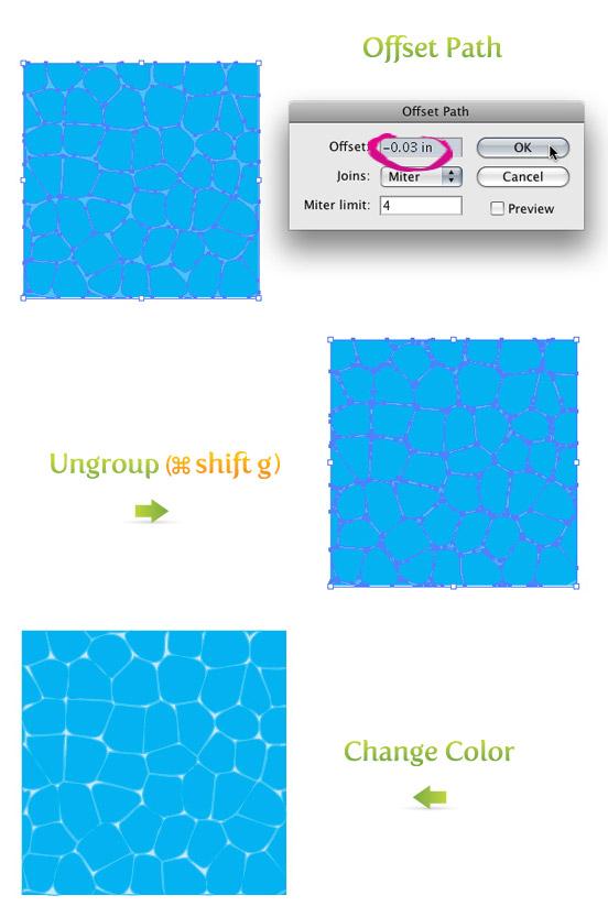 552x833 Create A Water Texture Vector!