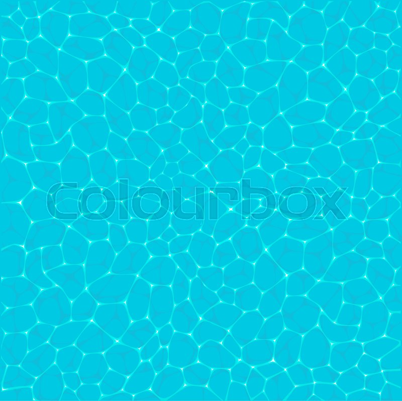 800x798 Top View Lagoon Sea Water, Ocean Pool Sparkling Background. Blue
