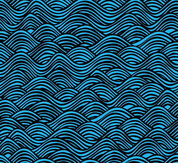 600x550 Water Pattern Vector Free 123freevectors