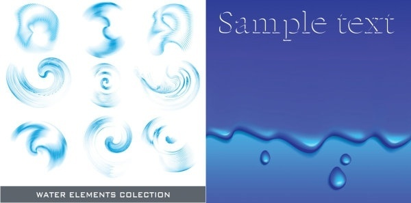 600x297 Water Free Vector Download (2,422 Free Vector) For Commercial Use