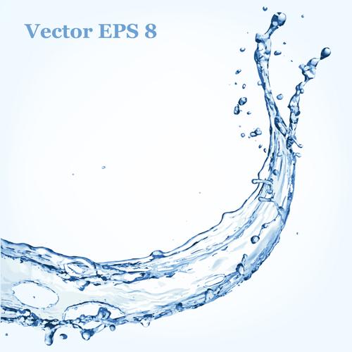 500x500 Splash Blue Water Vector Background 11 Free Download