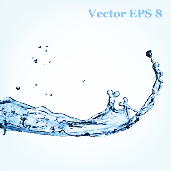 600x600 Transparent Water Splash Effect Vector Background Vector Trust To