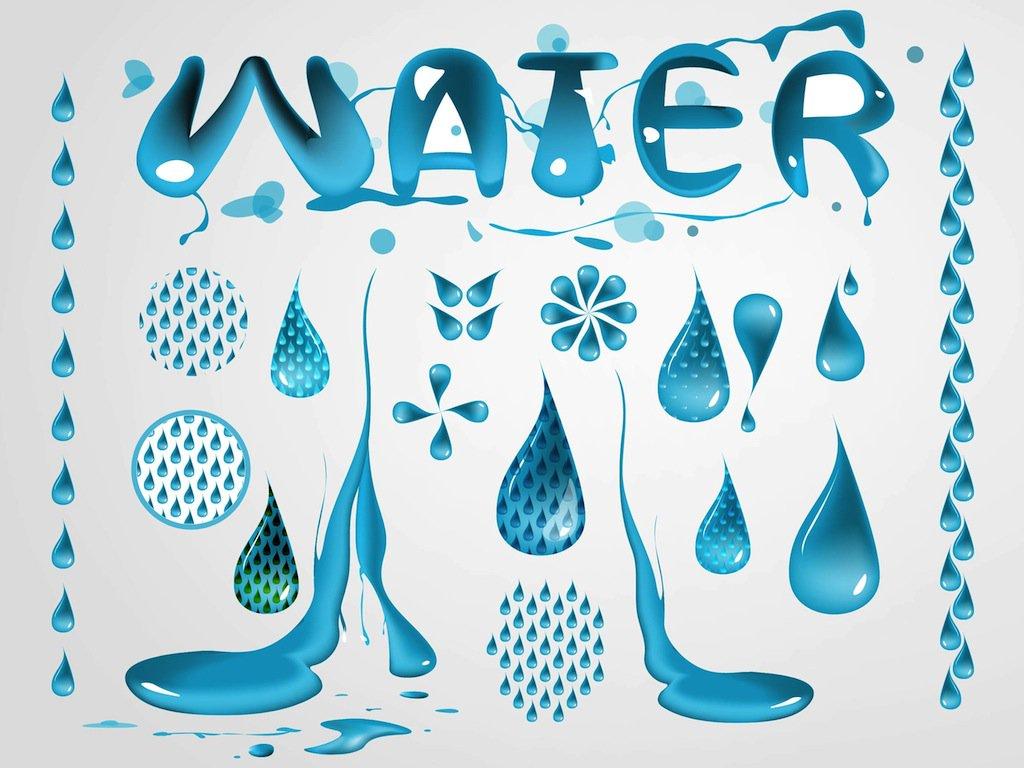 1024x768 Water Vectors Vector Art Amp Graphics