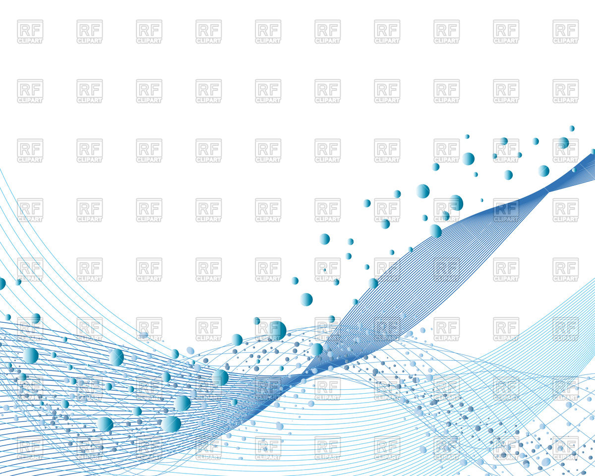 1200x960 Abstract Water Vector Background With Bubbles Of Airblue Wavy