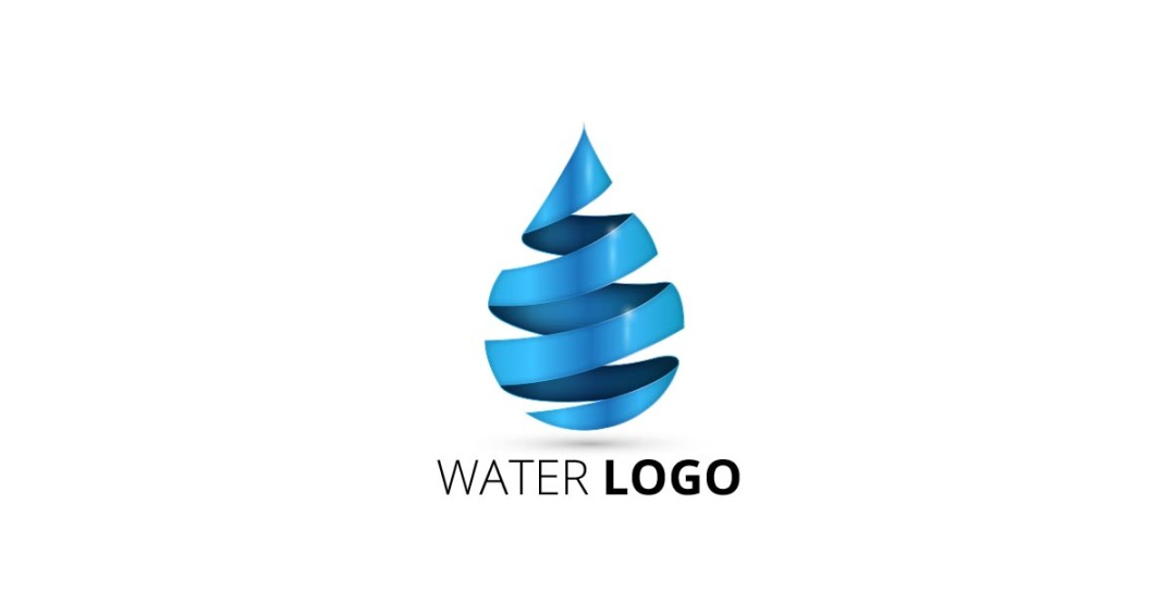 1080x565 Water Droplet Logo Free Vector And Transparent Png The Graphic