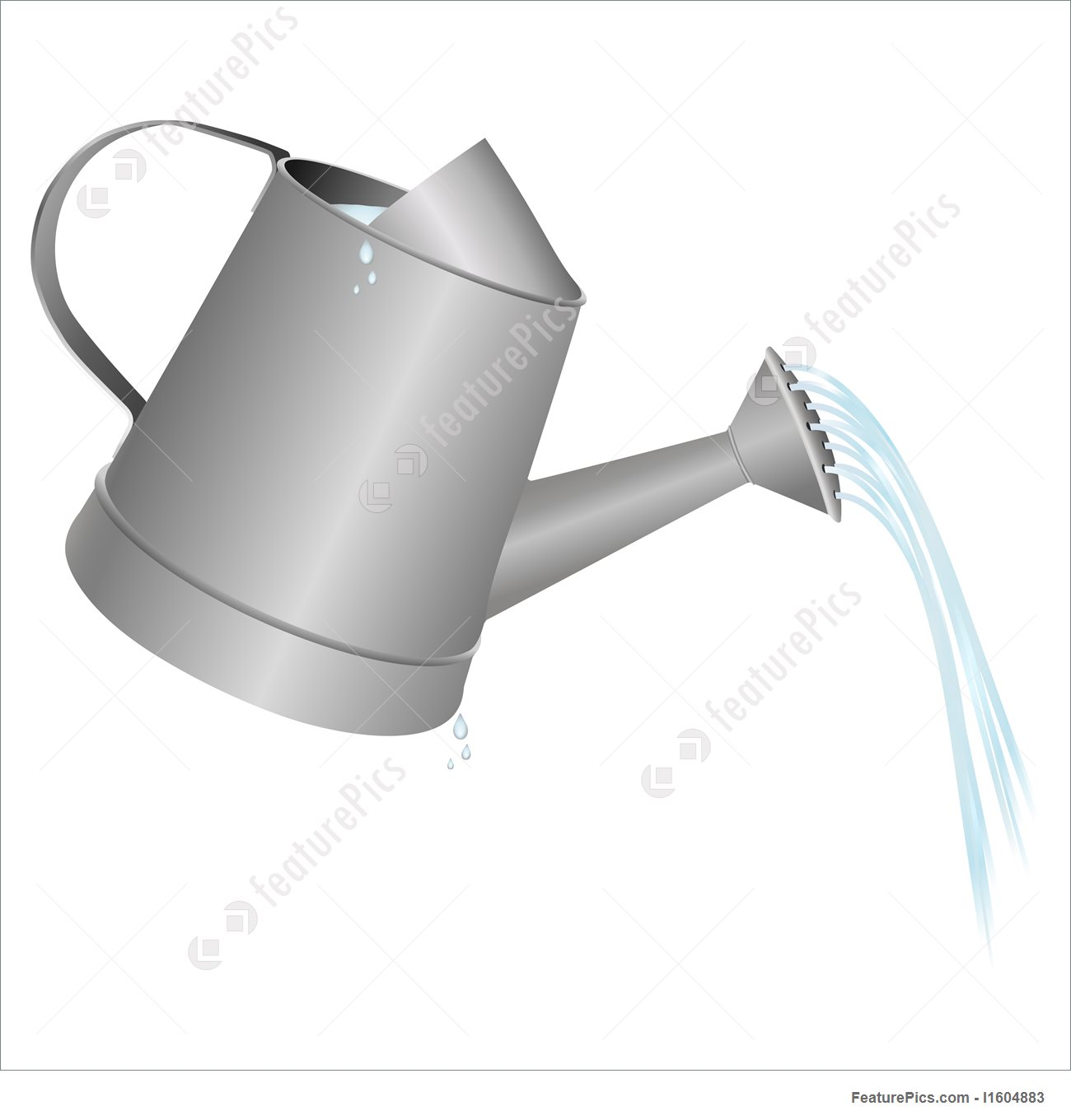 1300x1360 Illustration Of Watering Can