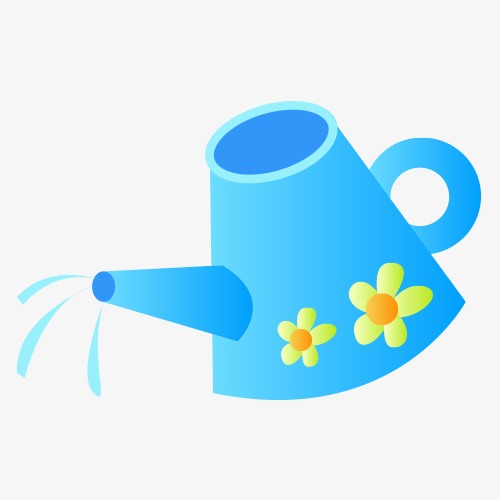 500x500 Personalized Watering Can Vector, Watering Can, Vector, Material