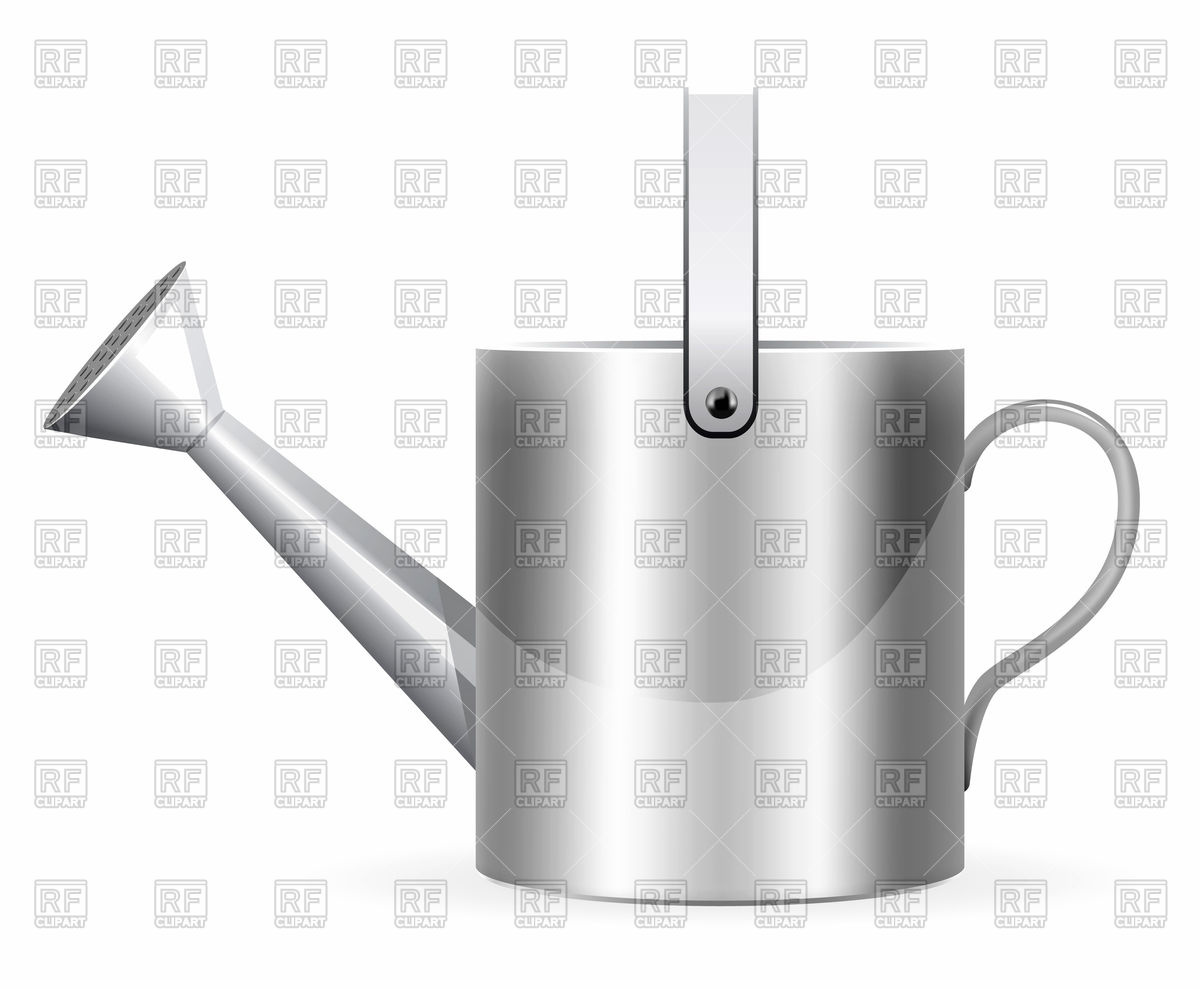 1200x989 Realistic Watering Can Vector Image Vector Artwork Of Objects