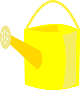265x297 Watering Can Clipart Vector 9